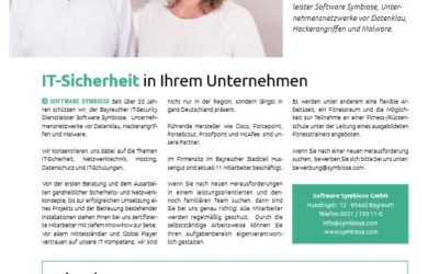 Bayreuth Journal Bericht über die Software Symbiose