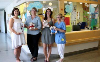 Unterstützung für die Kinderklinik und das Tierheim
