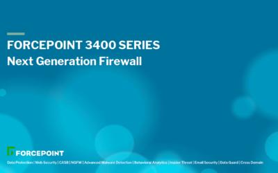 Forcepoint NGFW 3400 Serie: Ideal für Campus-Netzwerke und Rechenzentren
